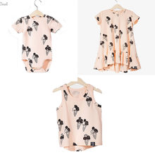 a42aac5a1a46a EnkeliBB Clearance Brand CLothing For Kids Girls Ice Cream Dresses Baby Ice  Cream Romper Brother Sister