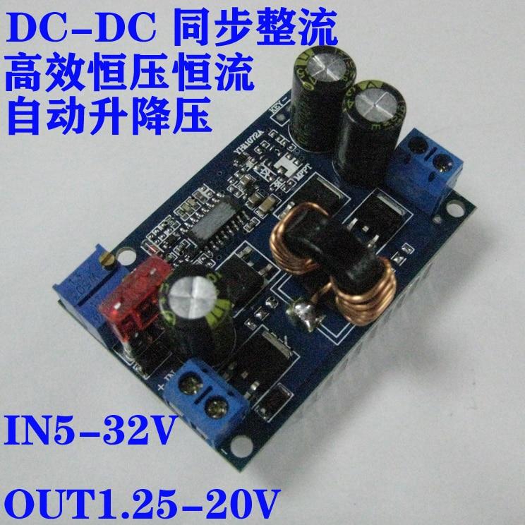 DC-DC automatic lifting pressure constant current module 60W power module 600w constant voltage constant current power car charger solar regulator dc dc boost module blue