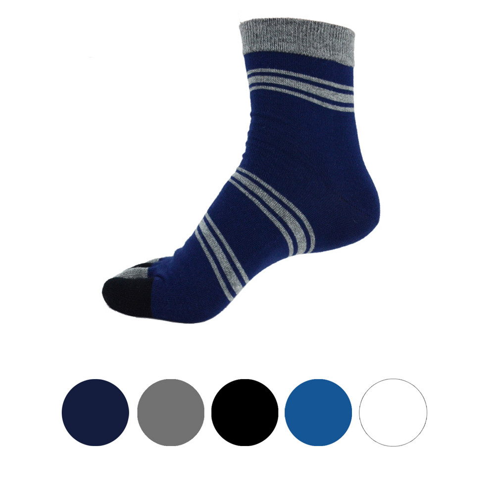 1 Pair men cotton Socks Middle Tube Five Finger Toe Socks calcetines divertidos socks men