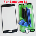 For samsung S7 G930 SM G930L/M/D SM G930F LCD Touch Screen Front Glass Outer Panel for Samsung Repair Parts with tools
