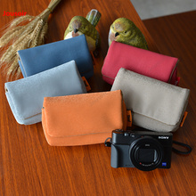 Black card camera bag mini photo holster micro-single anti-digital collection For S/F/P CD05 T07