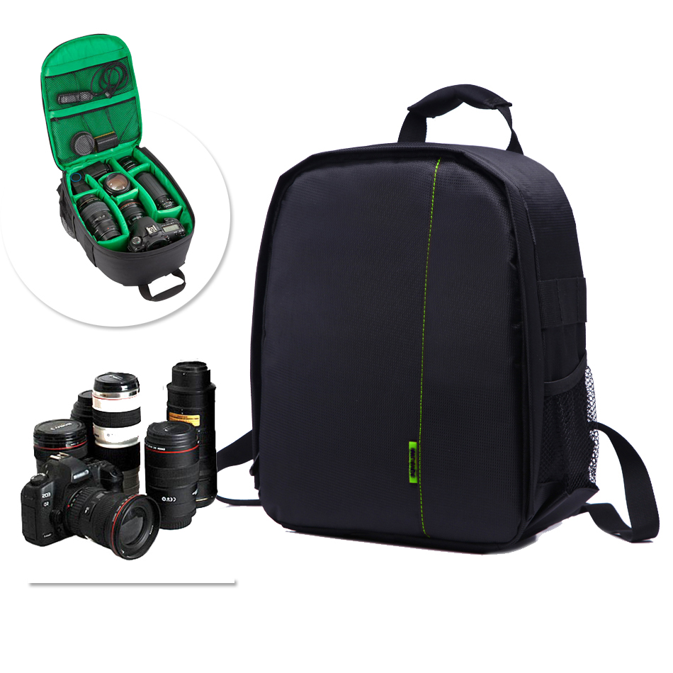 DSLR Camera Bag For Nikon D7500 D5300 D3400 Canon 750D 1300D 6D 5D Mark ii iii iv 77D Sony alpha A7 iii ii Photo BackpackDSLR Camera Bag For Nikon D7500 D5300 D3400 Canon 750D 1300D 6D 5D Mark ii iii iv 77D Sony alpha A7 iii ii Photo Backpack