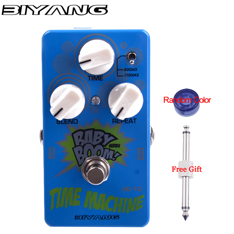 Biyang RV 10 Tri Reverb Effects Pedal Six Model Reverb Guitar Effects Pedal Baby Boom