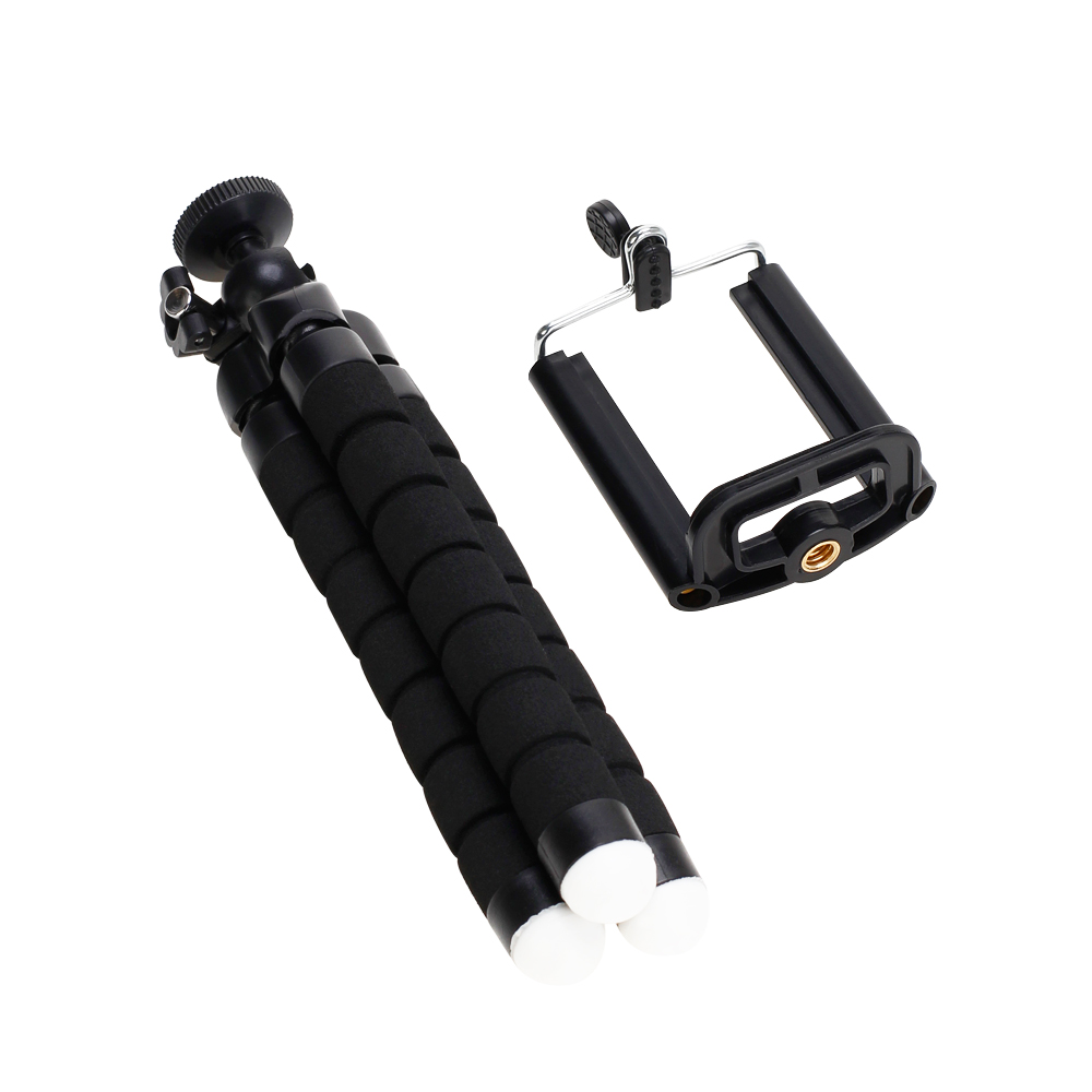 Tripods tripod for phone Mobile camera holder Clip smartphone monopod tripe stand octopus mini tripod stativ for phone (3)