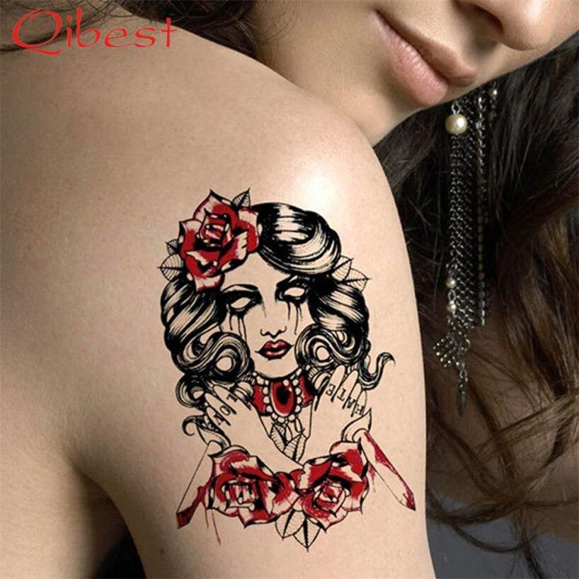 achetez en gros roses tatouages photos en ligne des grossistes roses tatouages photos chinois. Black Bedroom Furniture Sets. Home Design Ideas