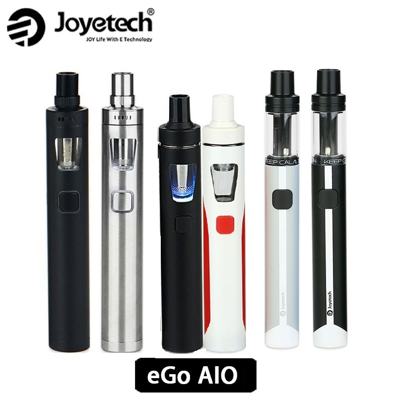 100% Original Joyetech EGo AIO Quick Start Kit/ Ego AIO Pro / EGo AIO ECO Kit All In One Starter Kit Ego Aio Serials
