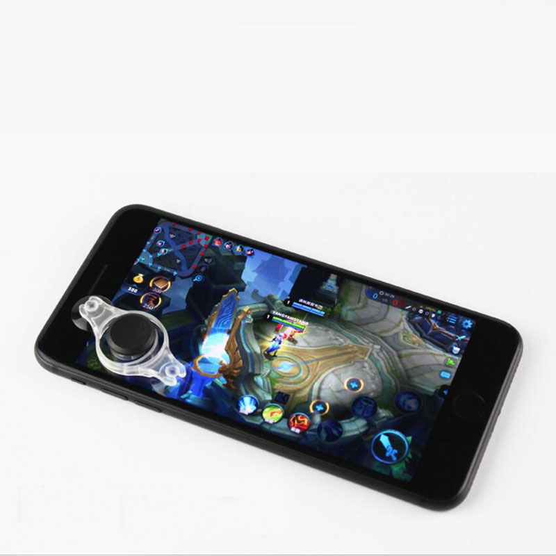 Game Joystick Fling Direction Controller Stick Stand Gaming Joypad Rocker For Iphone X 8 7 Ipad Samsung S8 Xiaomi Huawei Phones