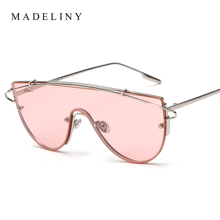 2016 Newest font b Fashion b font Oversized Frame font b Women b font Sunglasses Brand