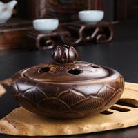 Lotus Smoked Incense Burner Ceramic Incense Burner There Are Cultural Bedroom Furnishing Articles Tea Incense Supplies