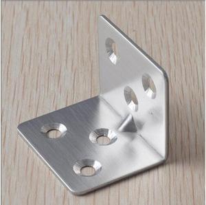 Image 3 - 20 個 38 × 30 × 1.5 ミリメートルステンレス鋼アングルコード 7 ワード固定ブラケット家具アクセサリーキャビネット右アングルコネクタ