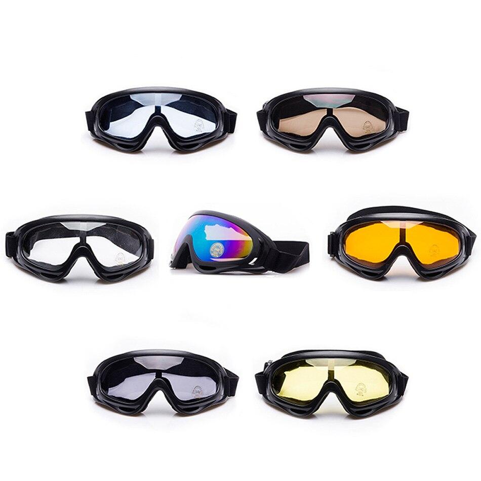 Тактический Airsoft Пейнтбол Goggle лыж мотоциклов очки для Для мужчин Для женщин молодежи с нерушимая объектив ветрозащитный велосипедные очки