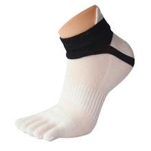 1 Pair fashion Winter socks Women Men Mesh Meias Sports Running Five Finger Toe Socks happy funny women Casual W709
