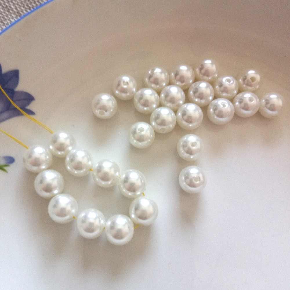 Hot 10pcs/Lot Womens Jewellery Simulated Pearl Fit Women Necklace / Bracelet / Earrings / Hair Accessories Diy Jewelry Findings