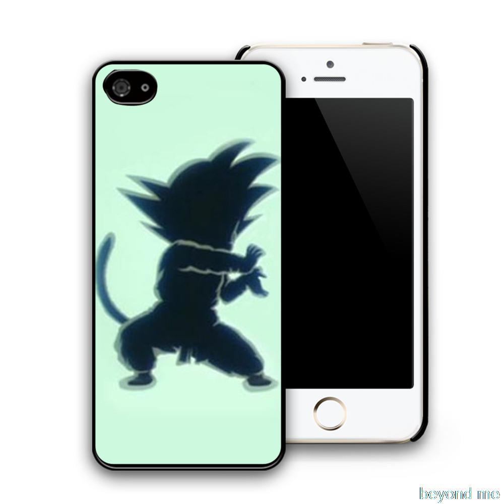Popular Anime Dragon Ball Z Goku Cases For iPhone 5S 6 Plus Covers For samsung galaxy s2 S3 S4 S5 Mini S6 Edge