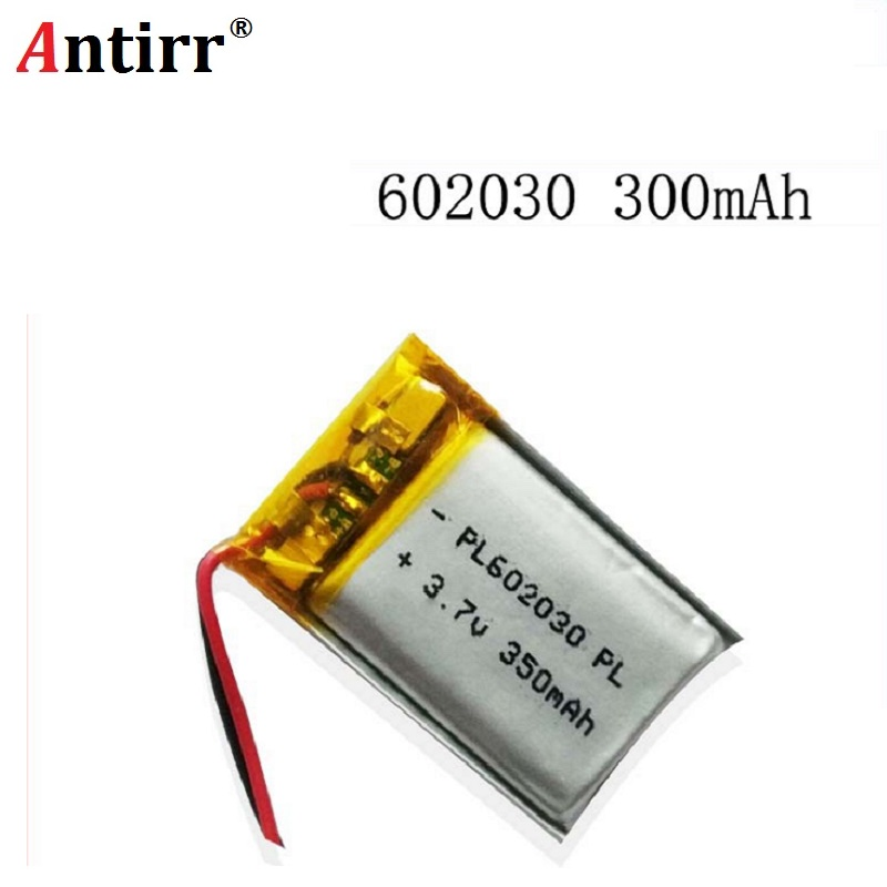 602030 350 Mah 3.7V Lithium-ion Polymer Battery Quality Goods Quality Of CE FCC ROHS Certification Authority