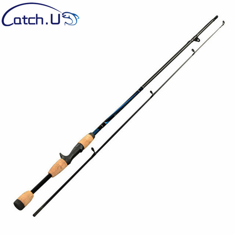 Catch U 1.7m/1.8m M Action 6-12g Test Casting Spining Carbon Lure Fishing Rods, Hard Fishing Pole Activating Blood Circulation And Strengthening Sinews And Bones