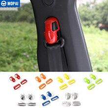 MOPAI ABS салона сиденье ремень безопасности украшения накладка наклейки для джип Ренегат 2015-2018 стайлинга автомобилей