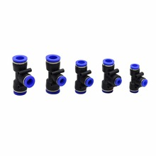 Water-Connection-Mist-Cooling-Nozzle-Accessories Quick-Connector Garden 100pcs Three-Way