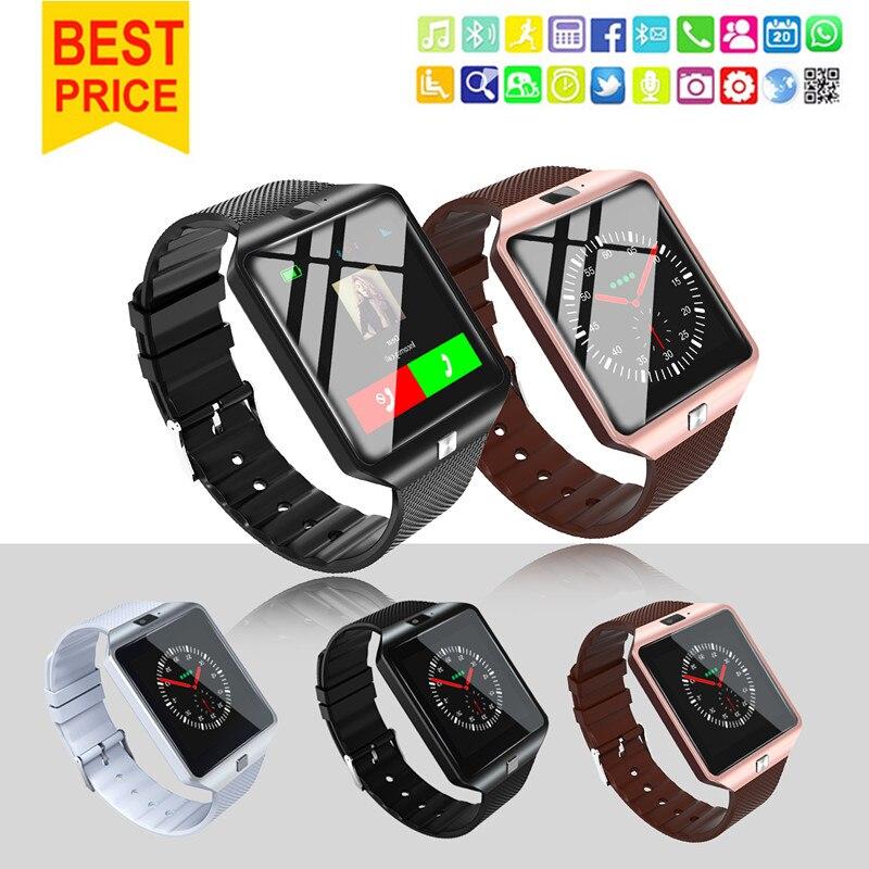 Smartwatch Intelligent Montre Dispositifs Portables DZ09 U8 Sport SIM Numérique Électronique Poignet Téléphone Avec Hommes Pour iPhone Apple Android Wach