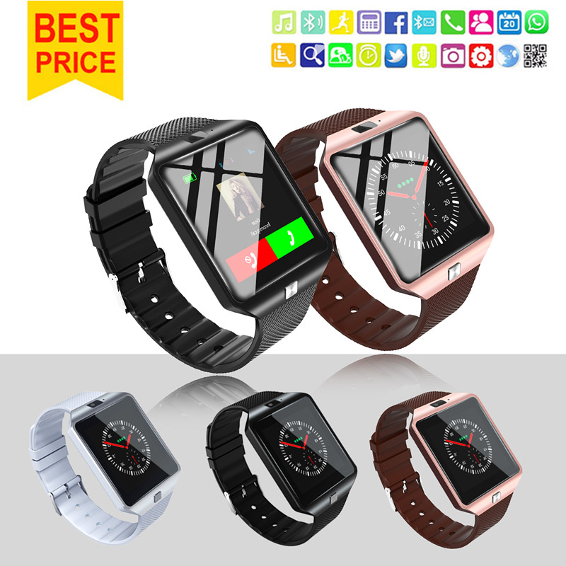 Smartwatch Smart Watch Wearable Devices DZ09 U8 Sport SIM Digital Electronics Wrist Phone With Men For iPhone Apple Android Wach