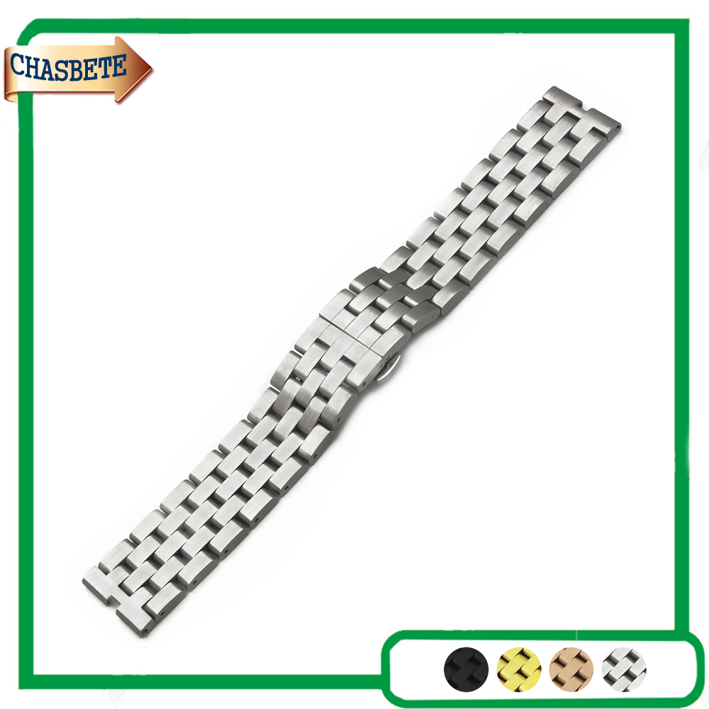 Stainless Steel Watch Band for Motorola Moto 360 1 1st Gen 2014 22mm Metal Strap Belt Wrist Loop Bracelet Men Women Silver Gold metal stainless steel watch band wrist strap 16mm 18mm 20mm 22mm replacement butterfly clasp bracelet men women black rose gold