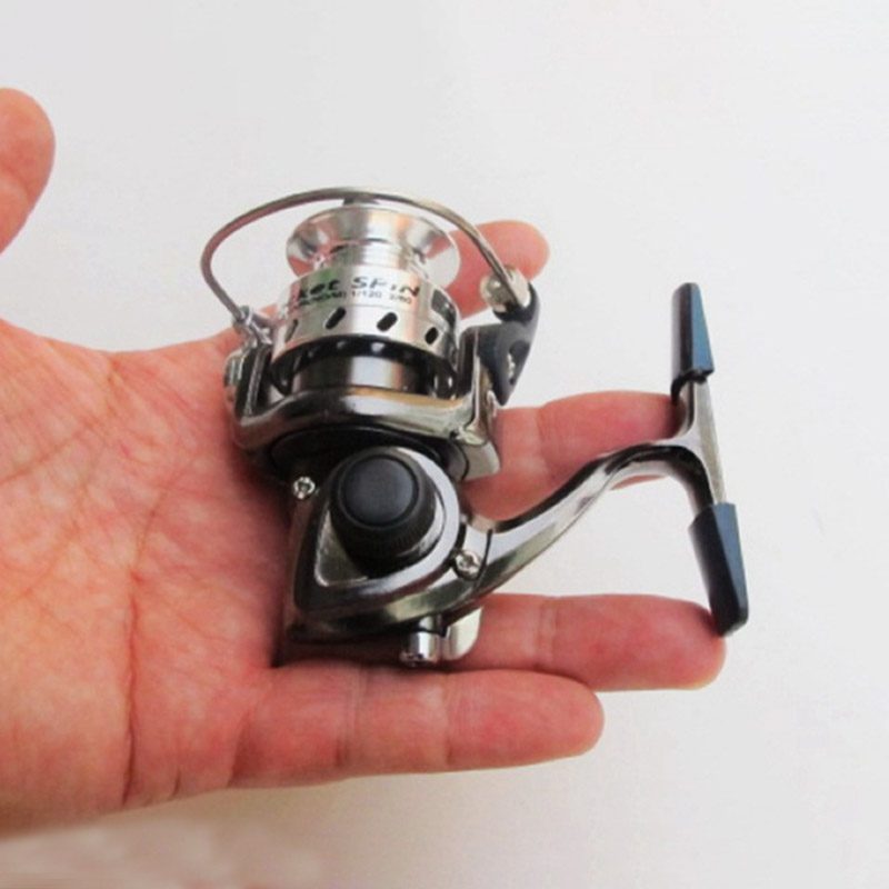 Spinning Mini Fishing Reel Metal Coil Left/Right Boat Rock Lure Ultralight Fishing Wheel