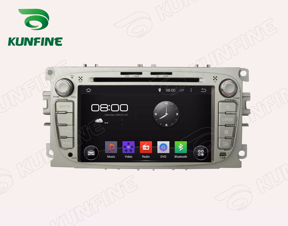 Octa core 2gb ram android 6 0 car dvd gps navigation multimedia player car stereo for ford