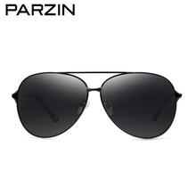 PARZIN Classic HD Polarized Aviation Sunglasses Men Retro oversized Alloy  Frame Male Sun Glasses for Driving With Original Box 2dcb51c637b7