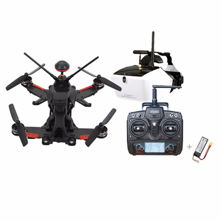 Walkera Runner 250 PRO GPS Racer Drone RC Quadcopter 800TVL 1080P HD กล้อง OSD DEVO 7 Transmtter FPV Goggle 4 Racing F19561-ใน ชิ้นส่วนและอุปกรณ์เสริม จาก ของเล่นและงานอดิเรก บน   1