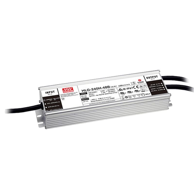 Meanwell Driver HLG-120-48A/B,HLG-240-48A/B,ELG-150-48A/B,ELG-240-48A/B Power Supply 120w/240w 110V/220V 85-265V Quantum Board
