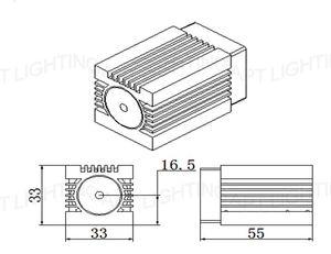 Image 5 - סופר לייזר יציב 200mW 532nm ירוק לייזר מודול שלב אור RGB לייזר ראש מודול דיודה לייזר TTL DC 12V luces לייזר נורות