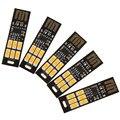 Sales 5pcs Soshine Mini USB Power 6-LED Night Light 1W 5V Touch Dimmer Warm Light(5 Pcs)