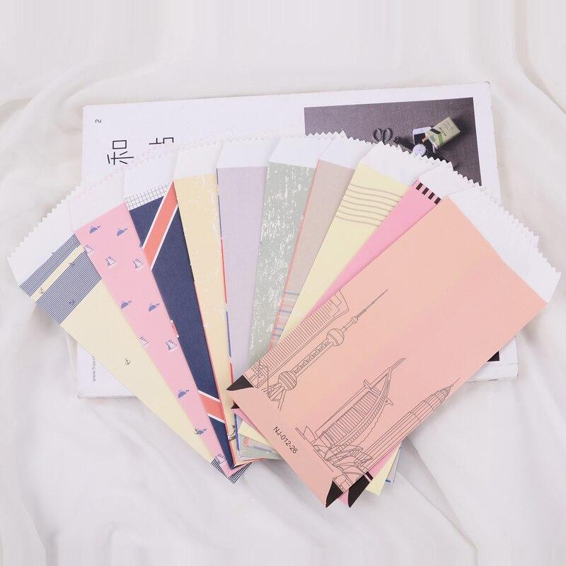 20 Pcs/lot Retro Europe Navy Series Gift Envelopes Vintage Scrapbooking Envelopes Small Envelopes Kawaii Stationery