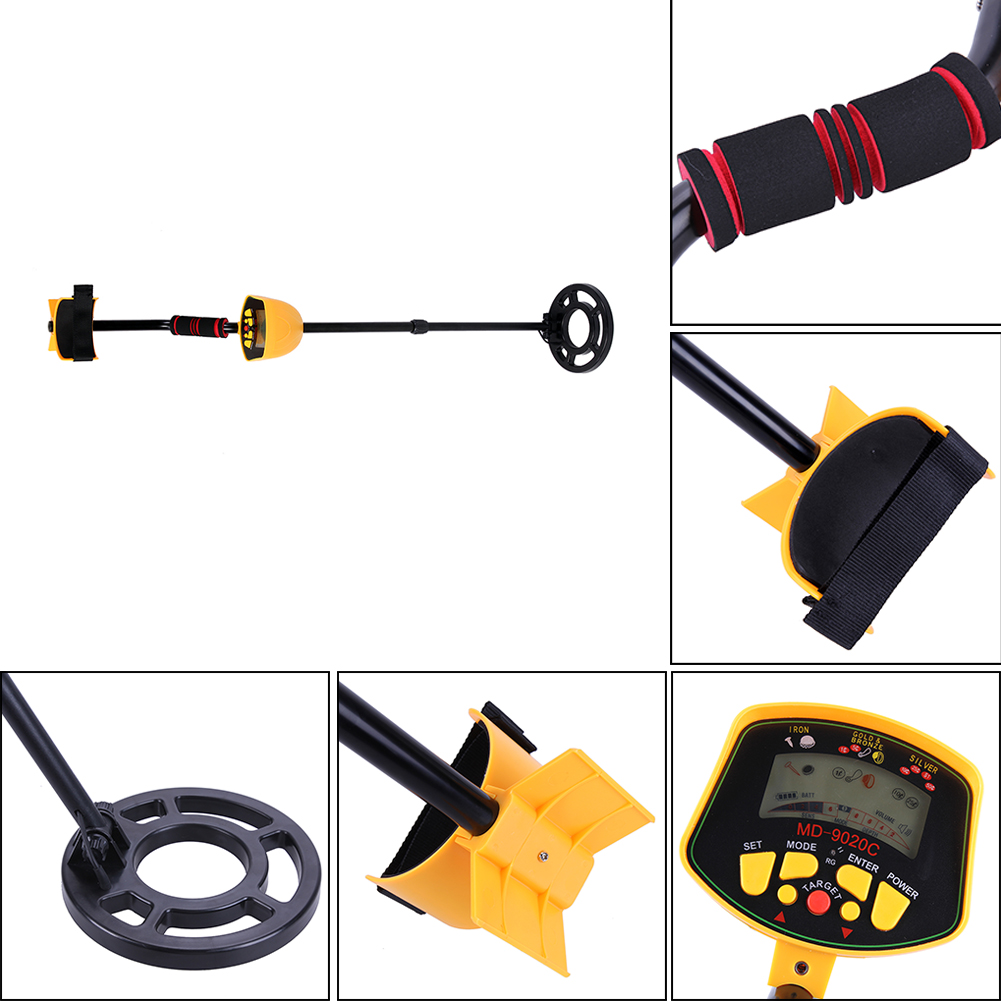 High Performance Underground Metal Detector Sensitivity LCD Display Gold,Silver Digger Treasure Hunter Detection depth up to 3M