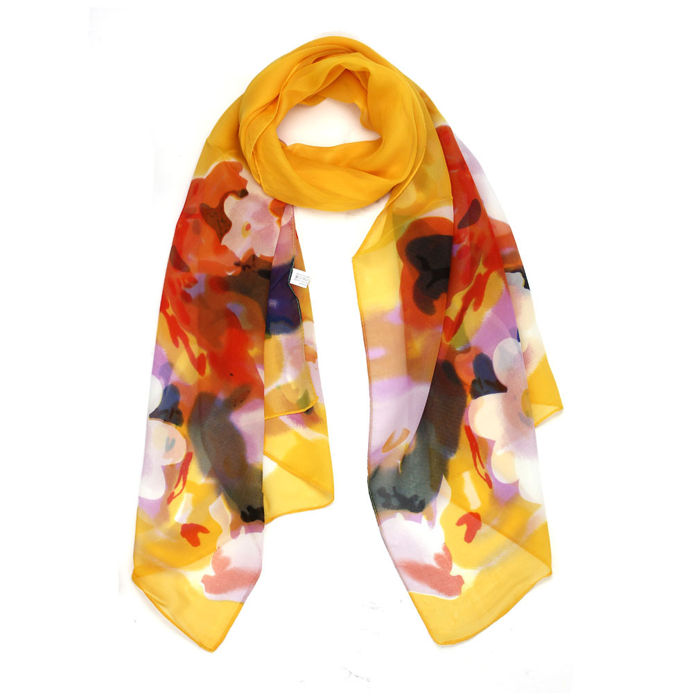 Burning Clouds Chiffon Scarf | Lightweight Scarves | Up to 60% Off Now