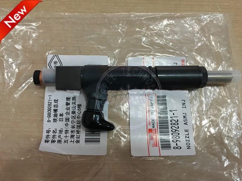 Diesel Injector Op 4le2 Motor Voor Isuzu Kobelco Sk75-8 Met Een Langdurige Reputatie