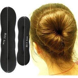 fashion simple sponge hair disk hair stick hair jewelry   T6024