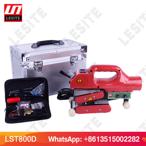 Image 5 - Geomembrane welding machine hot wedge welding machine HDPE sheet plastic liner welder PVC film sealing machine LESITE LST800
