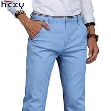 Men pants 2017 New Design Casual hombres pantalones Cotton Slim Pant Straight Trousers Fashion Business Pants Men Plus Size