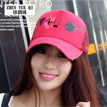2015 Classic Letter Sun Shade Snapback Baseball Caps Trucker Outdoor Sports Summer Breathable Mes Fitted Mesh Cap Hat Women Hats