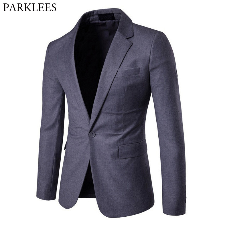 England Style Suit Men 2018 High Quality Single-breasted Tuxeo Blazer Jacket Men Casual Wedding Business Social Jaquetas Homens