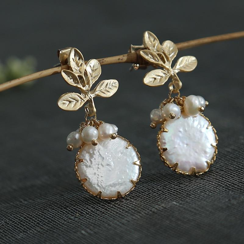 Boucles d'oreilles lapis en perles naturelles boucles d'oreilles bijoux exotiques en gros, lot mixte de vent éthique de mode