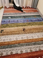 Thickening elastic yarn carpets home decorative mat and for living room 270x240cm