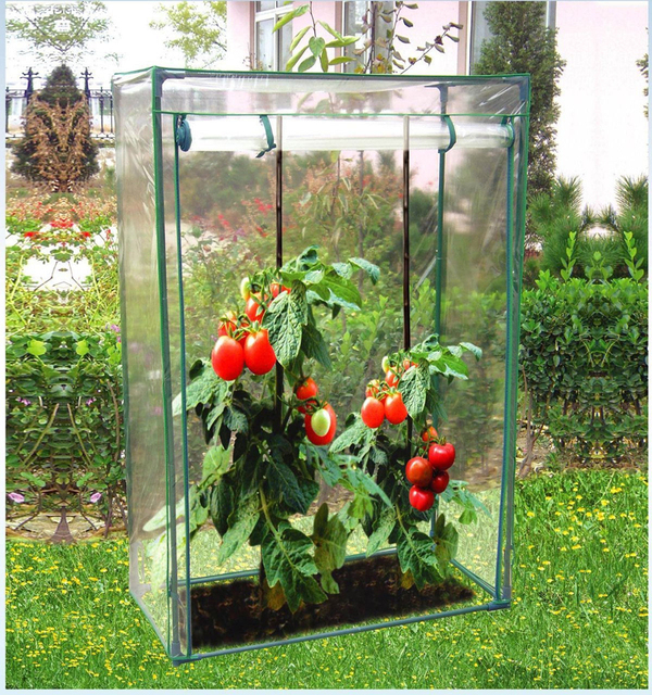 Tomato Growbag Growhouse Mini Outdoor Garden Greenhouse With Pvc Cover 67
