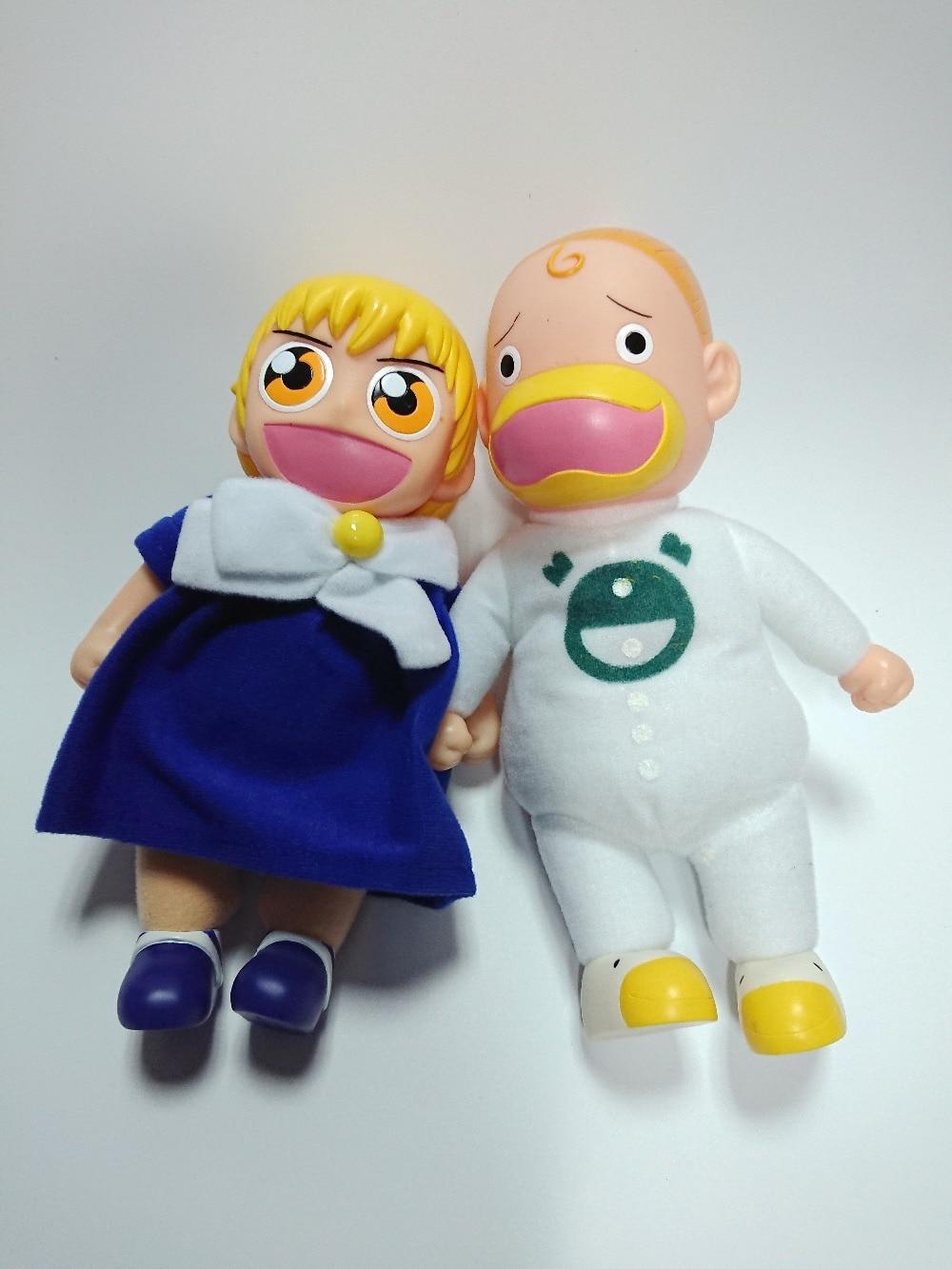 2pcs/set Gash Bell Gasshu Beru Zatch Bell Vinyl Doll Action Figure Doll Toy Model