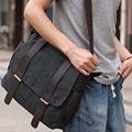 KIBDREAM Male Messenger Bag Canvas Handbags Men's Shoulder Bags New Fashion  Casual Multifunction  High Quality Travel Handbag