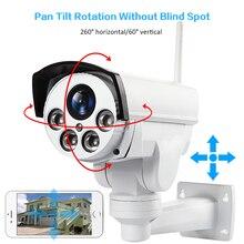 HD1080P Wi-Fi 3 г 4G SIM PTZ 5X зум Водонепроницаемая камера Поддержка Max 128 г ночного видения 50 м p2p наружного видеонаблюдения камеры