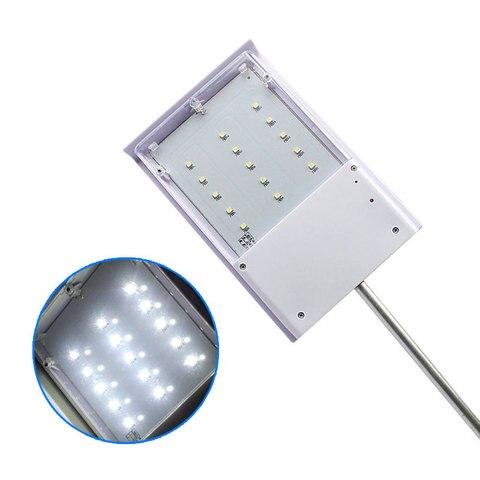 jardim conduziu a luz solar 15 led solar lampada de parede luzes rua sensor a