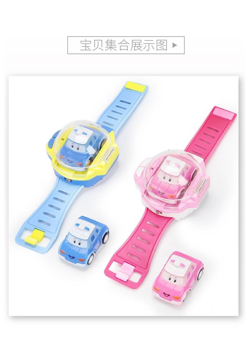 remote control car mini remote control car watch childrens toy strap car boy and girl Free shipping