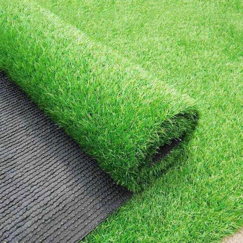 3/5/8m Outdoor Carpet Realistic Simulation Carpet Floor Mat Green Artificial Lawn Lawn Carpet Fake Turf Moss Home Garden